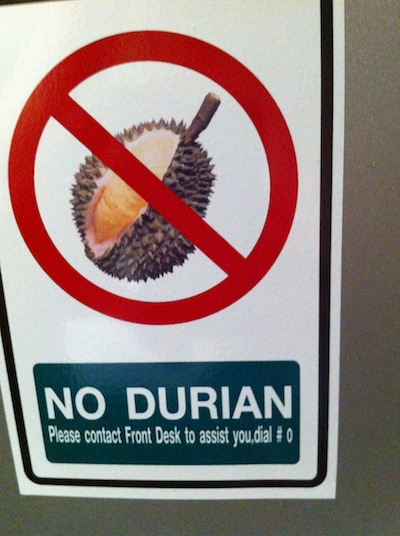 Durian, King of Fruits...